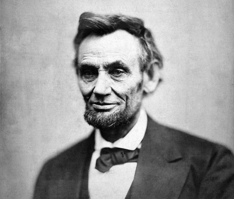 Abe Lincoln credit Alexander Gardner