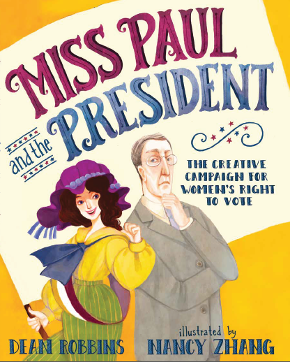 miss paul and the president_cover