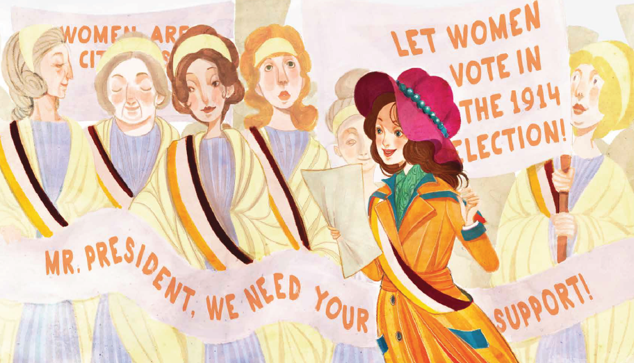Miss Paul and the President: The Creative Campaign for Women's Right to Vote_Alice Paul