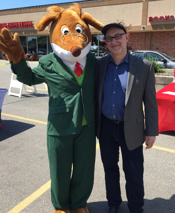 Dean Robbins and Geronimo Stilton